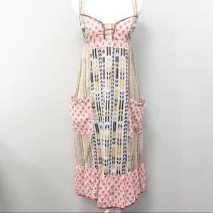UO. LUX. Boho hippie cotton sundress L/12